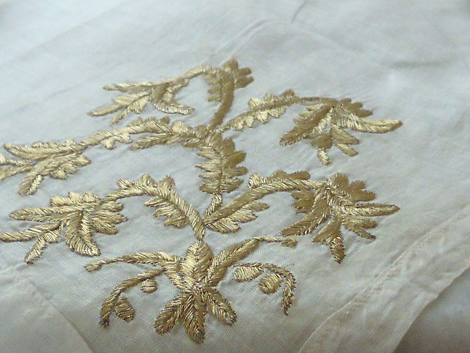 Hand-stitched two-sided doilies -OOAK-