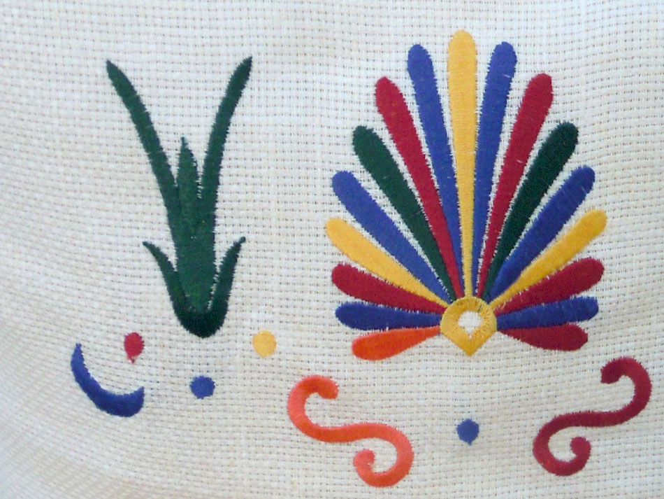 Linen traditional cushion cover