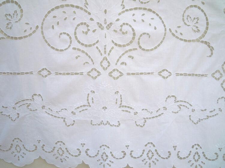 Handmade cutwork curtain