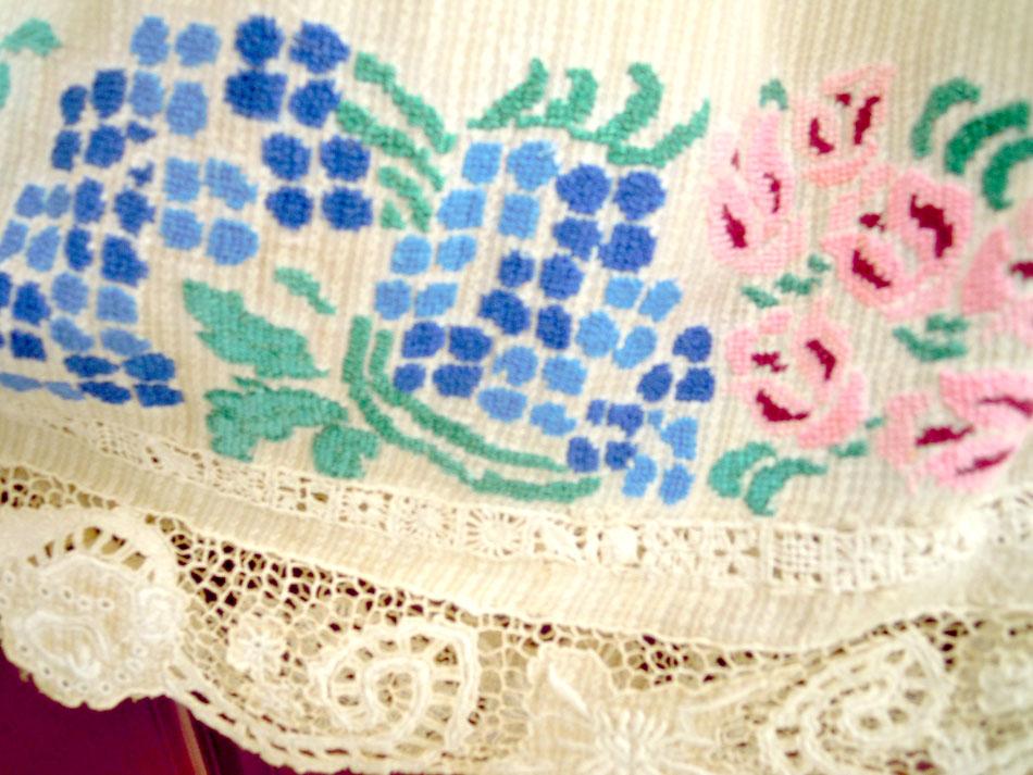Traditional handmade skirt