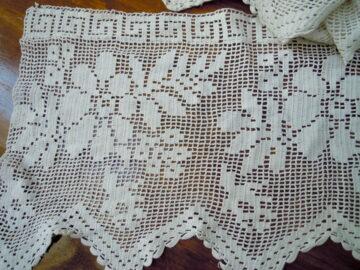 Handmade crochet lace