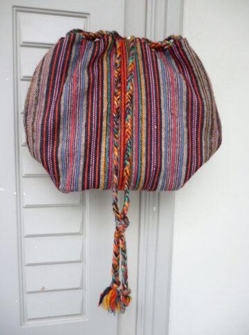 Traditional handwoven bag