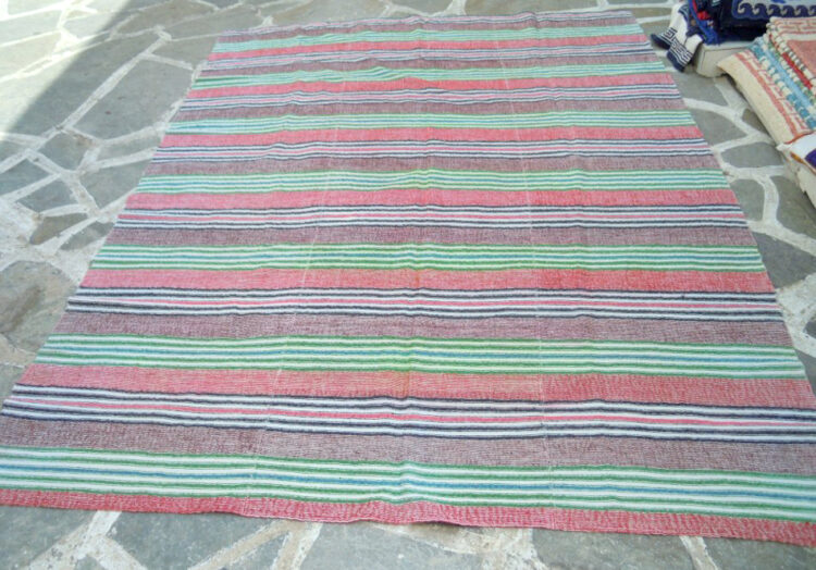 Vintage handwoven bedspread/ throw