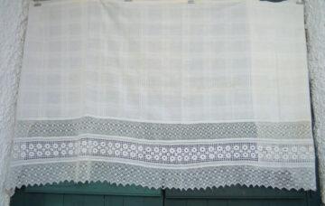 Vintage handwoven bed runner decoration