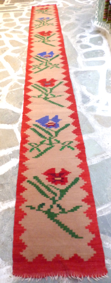 Vintage woolen kilim/hallway