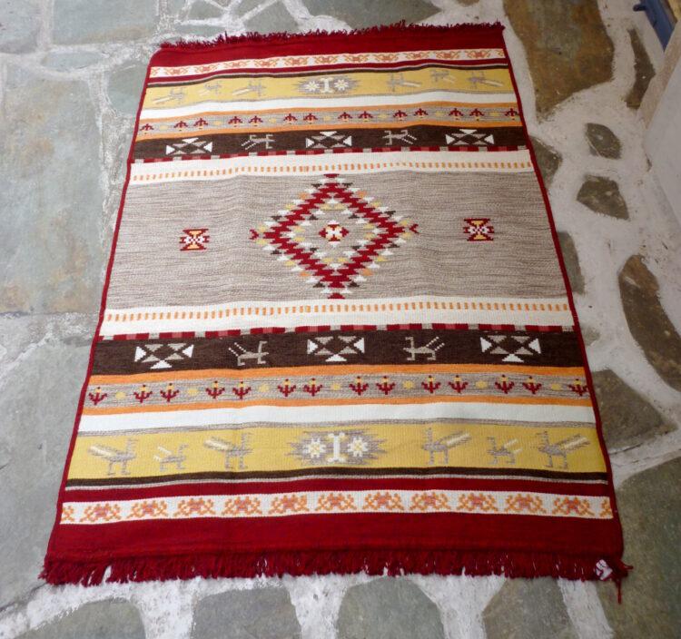 Cotton kilim/rug