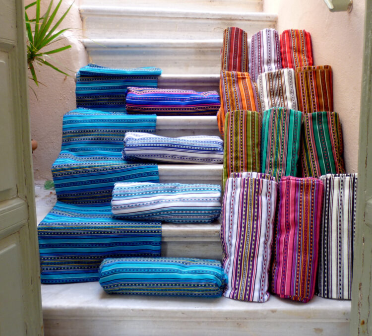 Traditional woven throw/ bed cover-Single size