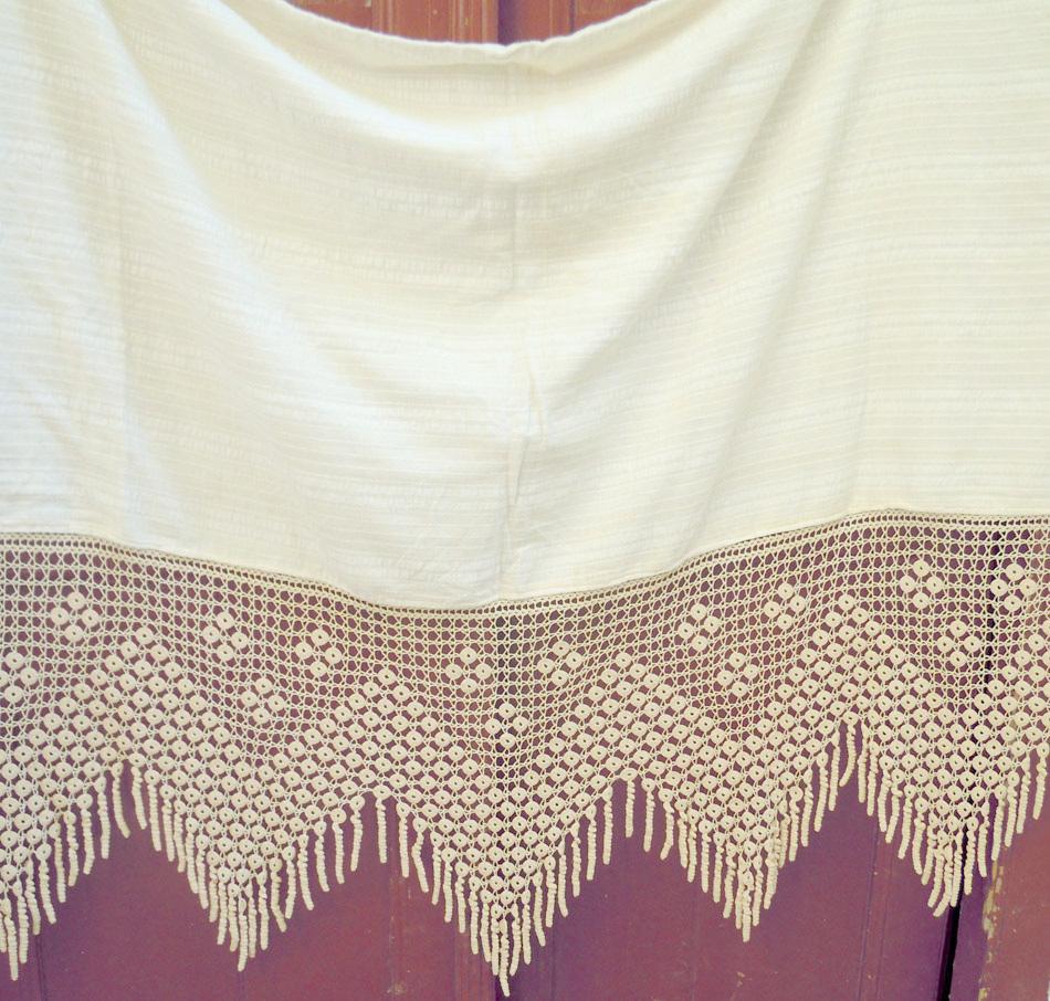 Vintage handmade lace