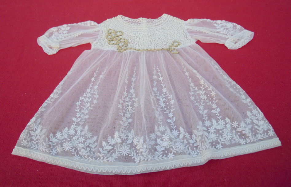 Vintage dress for a baby girl