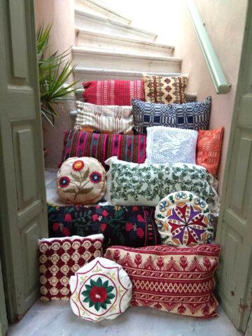 Παλιά μαξιλάρια